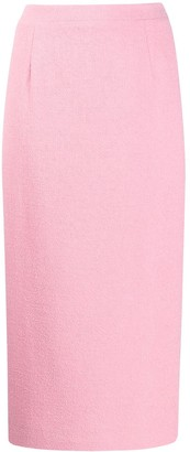 Alessandra Rich High-Waisted Pencil Skirt