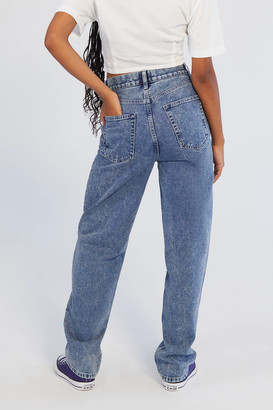 BDG High-Waisted Baggy Jean Light Acid Wash