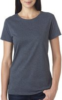 Gildan Women's Heavy Crewneck Cap Sleeve T-Shirt