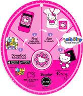 Hello Kitty Kids Shirt, Little Girls Graphic Ruffle-Hem Tee