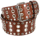 Dolce & Gabbana Grommet & Stud-Embellished Belt