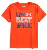 Under Armour Toddler Boy's Unbeatable Heatgear T-Shirt