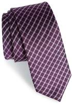 The Tie Bar Check Silk Tie