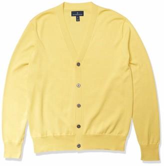 Buttoned Down Amazon Brand Men's 100% Supima Cotton Cardigan Sweater