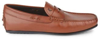 Tod's Mocassino City Leather Loafers