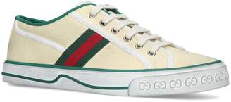 Gucci Canvas Vulcan Sneakers