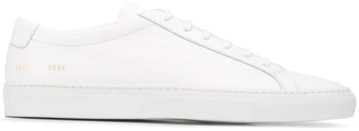 Common Projects white Achilles leather low-top sneakers
