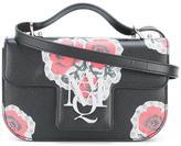Alexander McQueen poppy print crossbody satchel