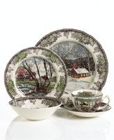 "Johnson Bros. Friendly Village"" 5-Piece Place Setting"