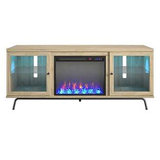 Ameriwood Home Sydney View Fireplace 70""