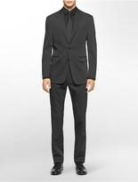 Calvin Klein X Fit Ultra Slim Fit Black Suit