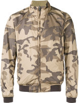 Woolrich camouflage reversible bomber jacket - men - Polyamide/Polyester - M