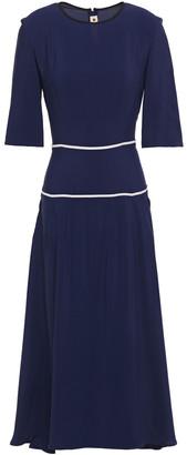 Marni Piped Crepe Midi Dress