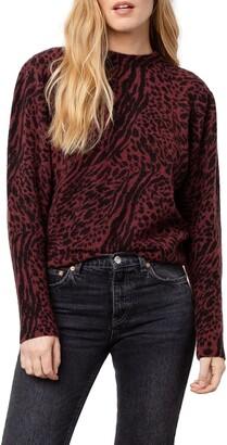 Rails Genevieve Animal Pattern Sweater
