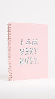 ban.do I Am Very Busy Large Notebook