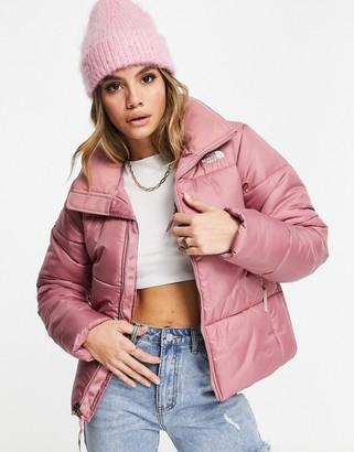 The North Face Saikuru puffer jacket in pink