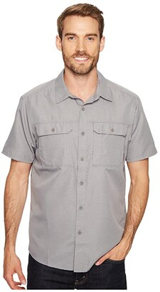 Mountain Hardwear Canyontm S/S Shirt (Manta Grey) Men's Short Sleeve Button Up