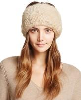 Maximilian Furs Knit Mink Fur Headband - Bloomingdale's Exclusive