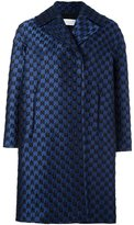 Gianluca Capannolo brocade oversized coat - women - Silk/Polyamide/Polyester/Virgin Wool - 38