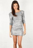Sequin Mini Dress - by Blaque Label