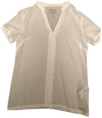 Woolrich White Silk Top for Women