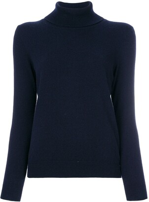N.Peal Cashmere Roll Neck Sweater