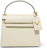 Valentino My Rockstud Large Leather Tote - Ivory