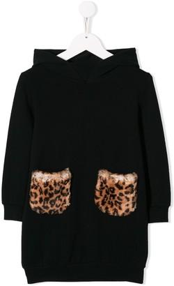 Il Gufo Hoodie Style Dress