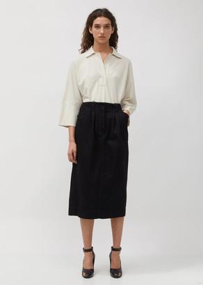 Lemaire Baggy Denim Skirt
