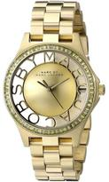 Marc Jacobs MBM3338 Women's Henry Stainless Steel Watch with Crystal Accents