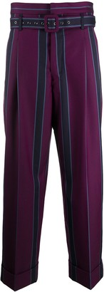 Vivienne Westwood Striped Straight-Leg Trousers