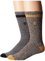 Timberland Rugged Heritage 2-Pack Crew Socks