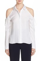 Cushnie et Ochs Women's Cold Shoulder Blouse