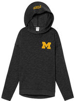 PINK University Of Michigan Crossover Pullover