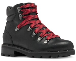 Sorel Women's Lennox Hiker Lug Sole Booties Women's Shoes