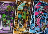 Monster High Dawn of the Dance Set of 3 Dolls: Clawdeen Wolf, Cleo de Nile and Frankie Stein