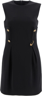 Versace Mini Dress With Safety Pin