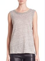Generation Love Lucy Crystal-Embellished Tank Top