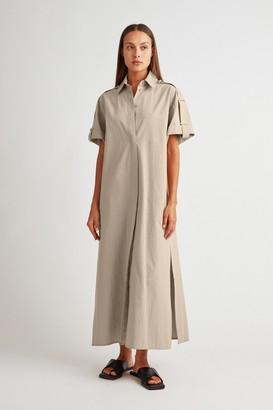 Camilla And Marc Frank Maxi Shirt Dress