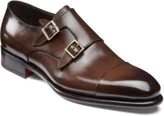 Santoni IRA Double Monk Strap Shoe