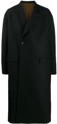 Haider Ackermann long length single-breasted coat