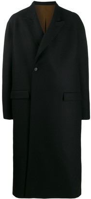 Haider Ackermann Long Length Single-Breasted Coat