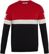 Givenchy Tri-colour wool-blend sweater