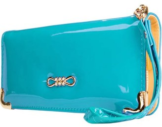 Vangoddy Women's Clutch Wallet Evening Purse Wristlet with Cell Phone Compartment (fits up to 6.25in x 3.1in)
