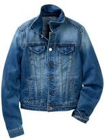 Tractr Denim Jacket (Big Girls)