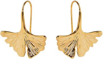 Aurelie Bidermann Actua Tangerine Gold Earrings
