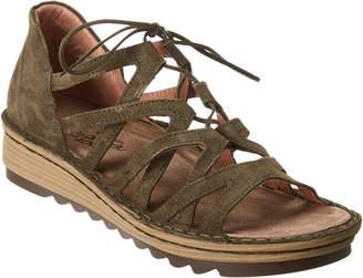 Naot Footwear Yarrow Wedge Leather Sandal