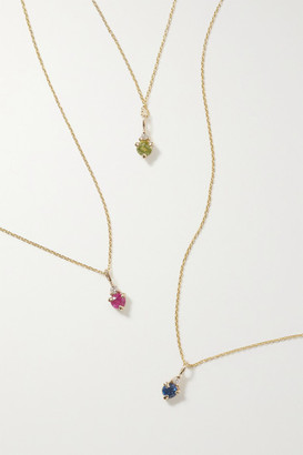 Stone And Strand STONE AND STRAND - Birthstone Gold Multi-stone Necklace