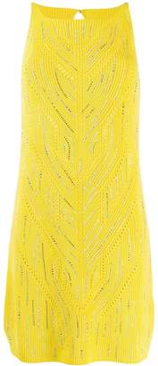 Ermanno Scervino embellished knit dress