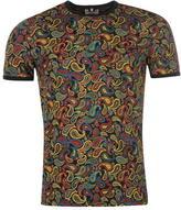 Soviet Paisley T Shirt